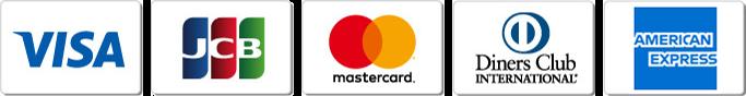 カード会社のロゴの写真